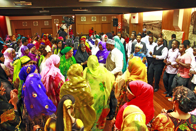Somalia traditional wedding