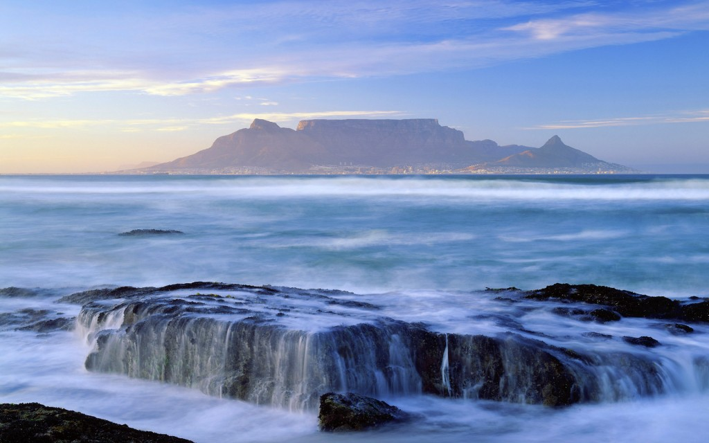 South Africa, Western Cape, Cape Peninsula, Cape Town, Landscape, Table Mountain National Park