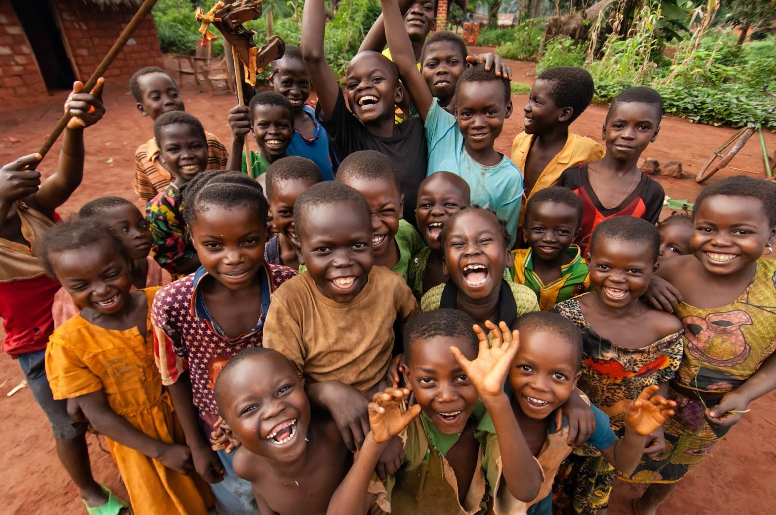 tribe kids african kids
