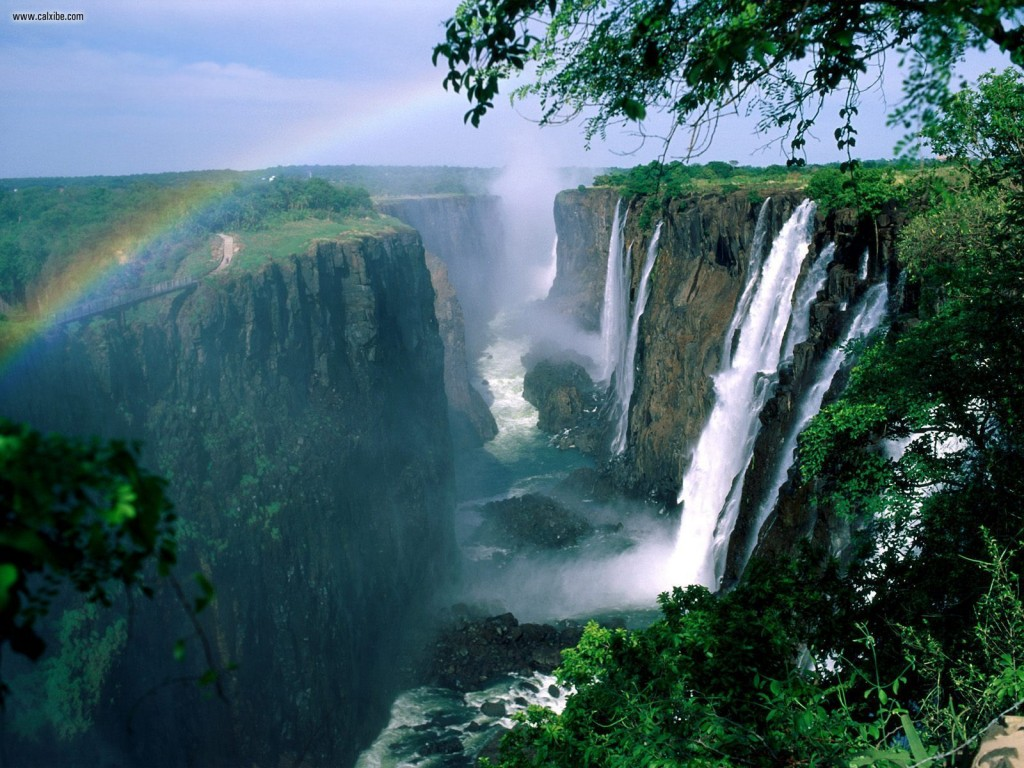 african waterfall victoria