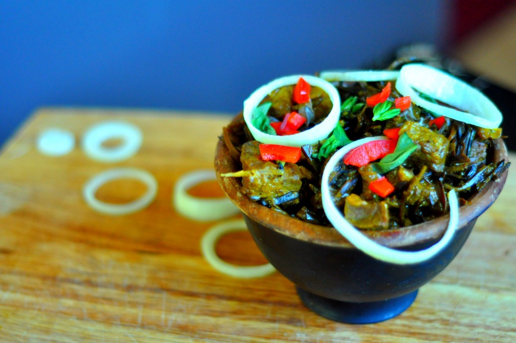 How to Make nkwobi, one of the Nigerian's most popular evening meals
