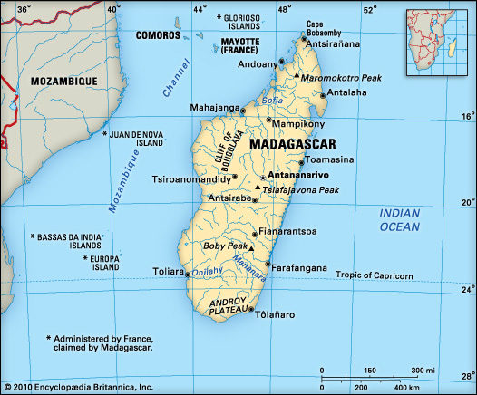 Interesting facts about madagascar africa facts Small islands around the world