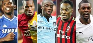 Top 10 Richest African Football Players